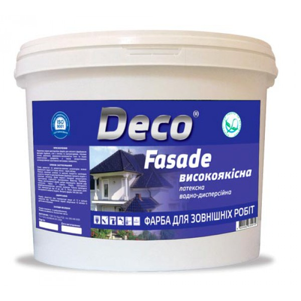 FASADE - акриловая экономичная краска для наружных работ