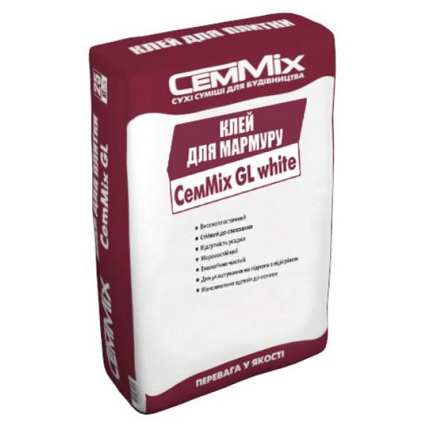 Клей для мрамара CemMix GL white