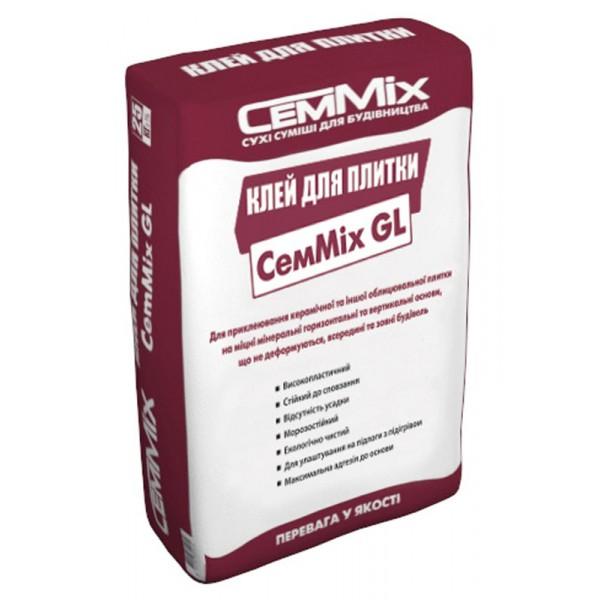 Клей для плитки CemMix GL