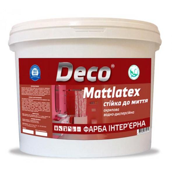 MATTLATEX акриловая, стойкая к мытью качественная краска для внутренних работ